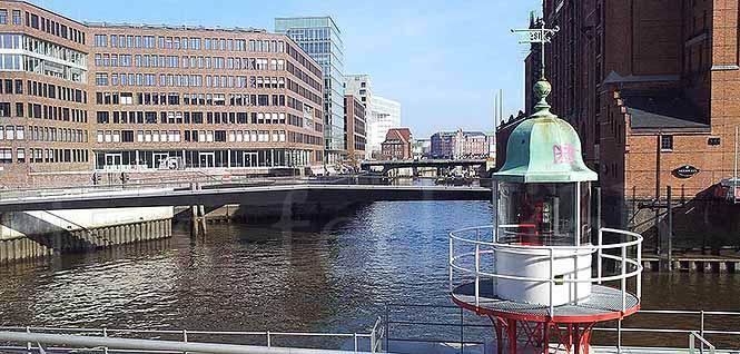 Die Hafencity in der Speicherstadt Hamburg