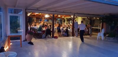 Tango in Plakias-Kreta. Abendessen bei Stelios