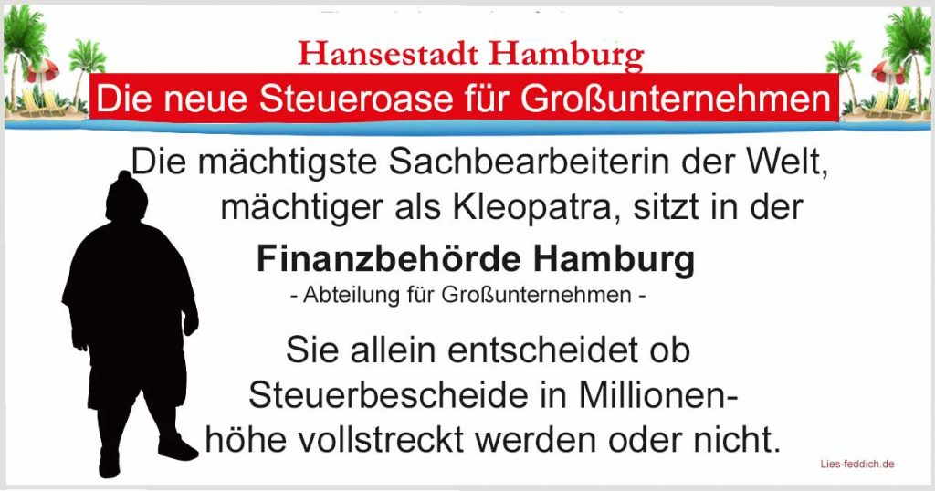Svenja Pannhusen, Finanzamt Hamburg