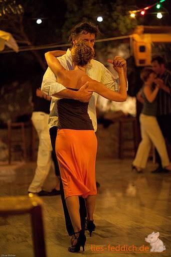 Tango tanzen mit Christiane in Plakias/Kreta