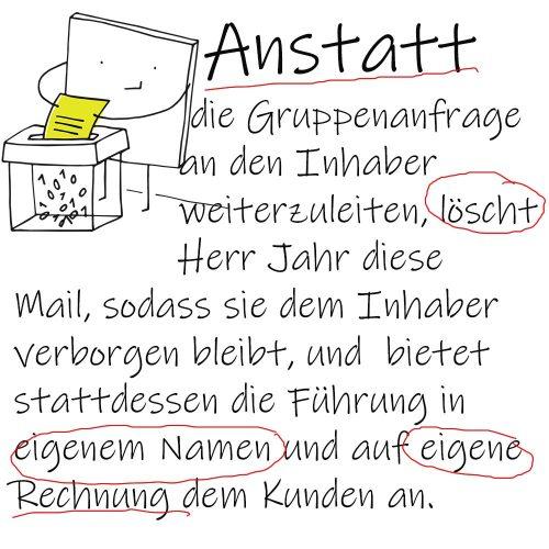 Moritz Jahr löscht Mail.